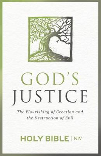 Picture of NIV God's Justice Bible: The Flourishing of Creation and the Destruction of Evil