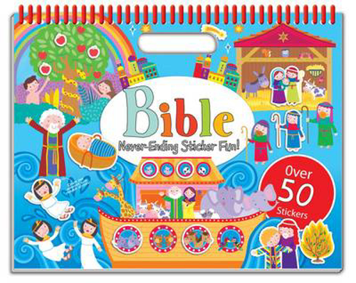 Picture of Bible Never-Ending Sticker Fun!: Over 50 Stickers