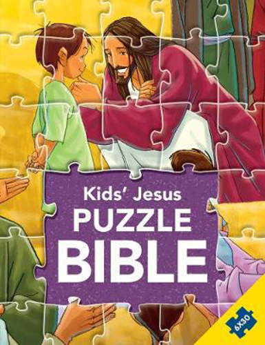 Picture of Kids' Jesus Puzzle Bible