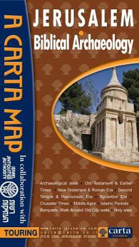 Picture of Jerusalem: Biblical Archaeology: A Carta Map