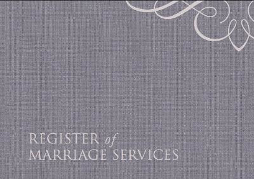 Picture of Register Of Marriage Services