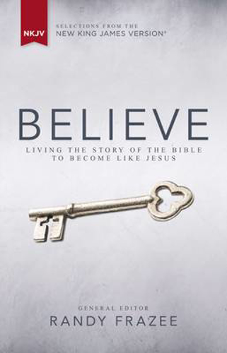 Picture of NKJV, Believe, Hardcover: Living the Story of the Bible to Become Like Jesus