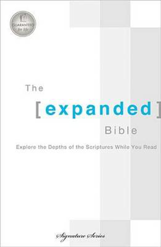 Picture of Expanded Bible-OE-Signature: Explore the Depths of the Scriptures While You Read