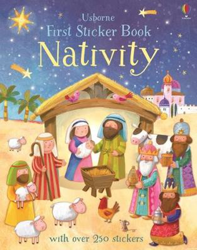 Picture of First Sticker Book Nativity