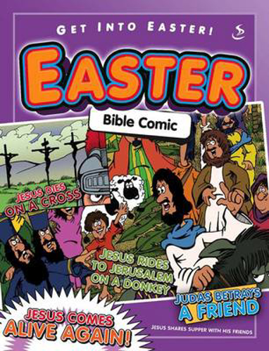 Picture of Easter Bible Comic