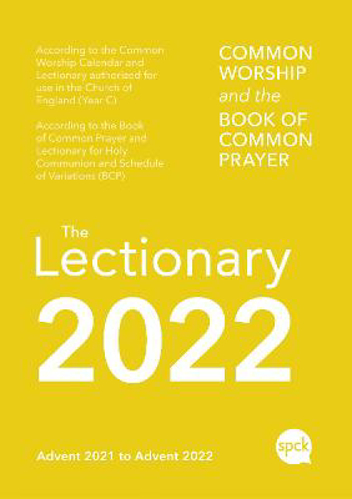 Picture of Common Worship Lectionary 2022