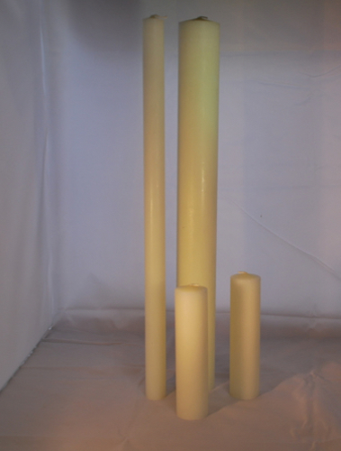 Picture of Altar Candle 9 X 3/4