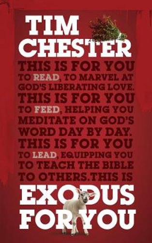 Picture of Exodus For You: Thrilling you with the liberating love of God