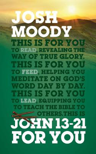 Picture of John 13-21 For You: Revealing the way of true glory
