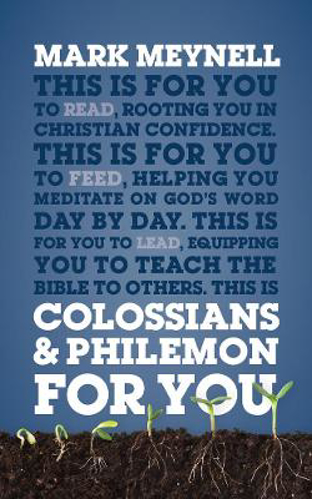 Picture of Colossians & Philemon For You: Rooting you in Christian confidence
