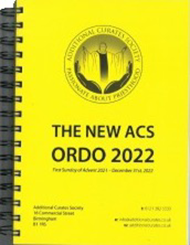 Picture of Acs Ordo 2022
