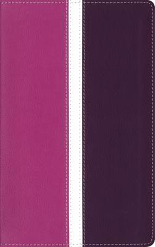 Picture of Amplified Holy Bible, Leathersoft, Pink/Purple, Indexed: Captures the Full Meaning Behind the Original Greek and Hebrew