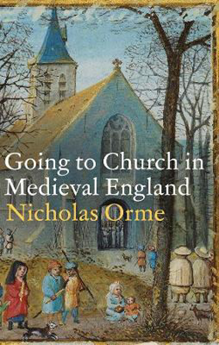 Picture of Going to Church in Medieval England