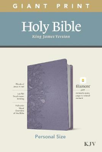 Picture of KJV Personal Size Giant Print Bible, Filament Ed., Lavender
