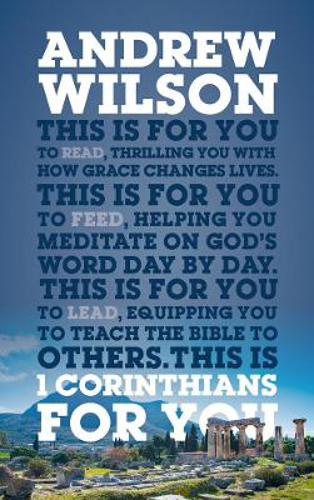 Picture of 1 Corinthians For You: Thrilling You With How Grace Changes Lives