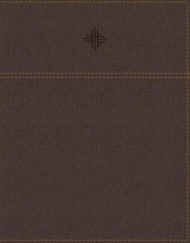 Picture of NRSV, Journal the Word Bible, Leathersoft, Brown, Comfort Print: Reflect, Journal, or Create Art Next to Your Favorite Verses
