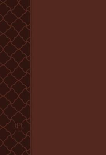Picture of The Passion Translation New Testament with Psalms Proverbs and Song of Songs (2020 Edn) Compact Brown Faux Leather
