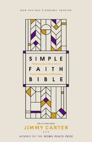 Picture of NRSV, Simple Faith Bible, Hardcover, Comfort Print: Following Jesus into a Life of Peace, Compassion, and Wholeness