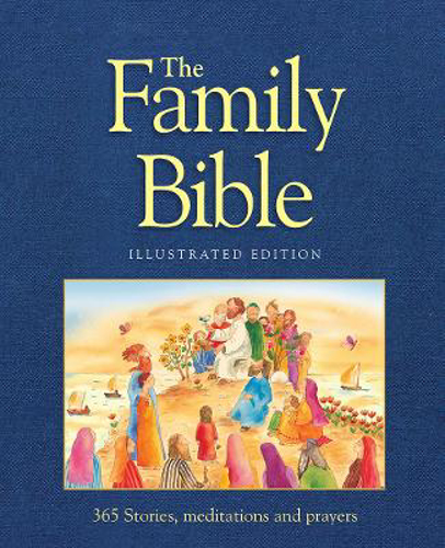 Picture of The Family Bible: 365 Stories, meditations and prayers