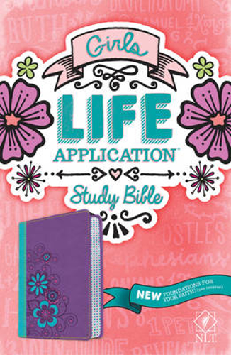 Picture of NLT Girls Life Application Study Bible